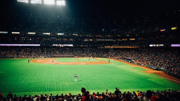 AT&T Park Baseball Stadium