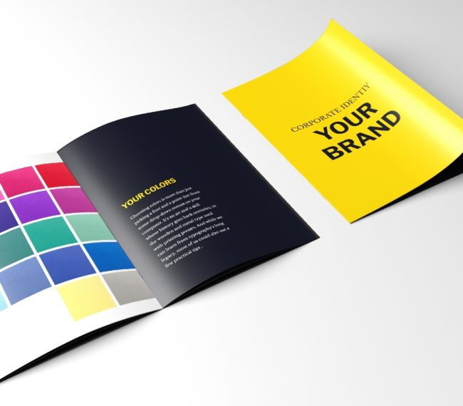 "DIGITAL BASE Branded ""Your Brand"" Leaflet"