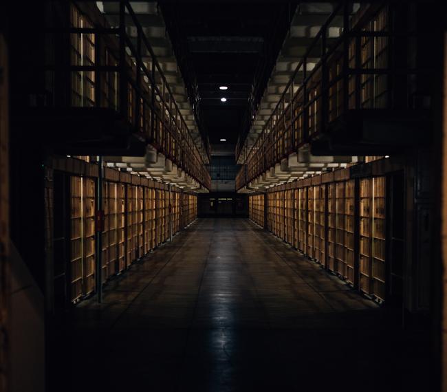 Alcatraz Prison Gangway