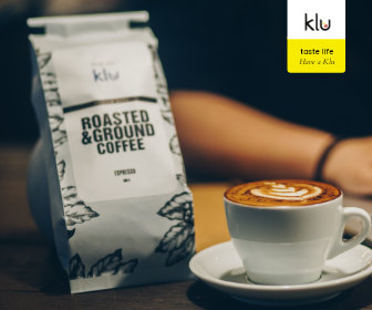 Klu White Beans Packaging + Coffee
