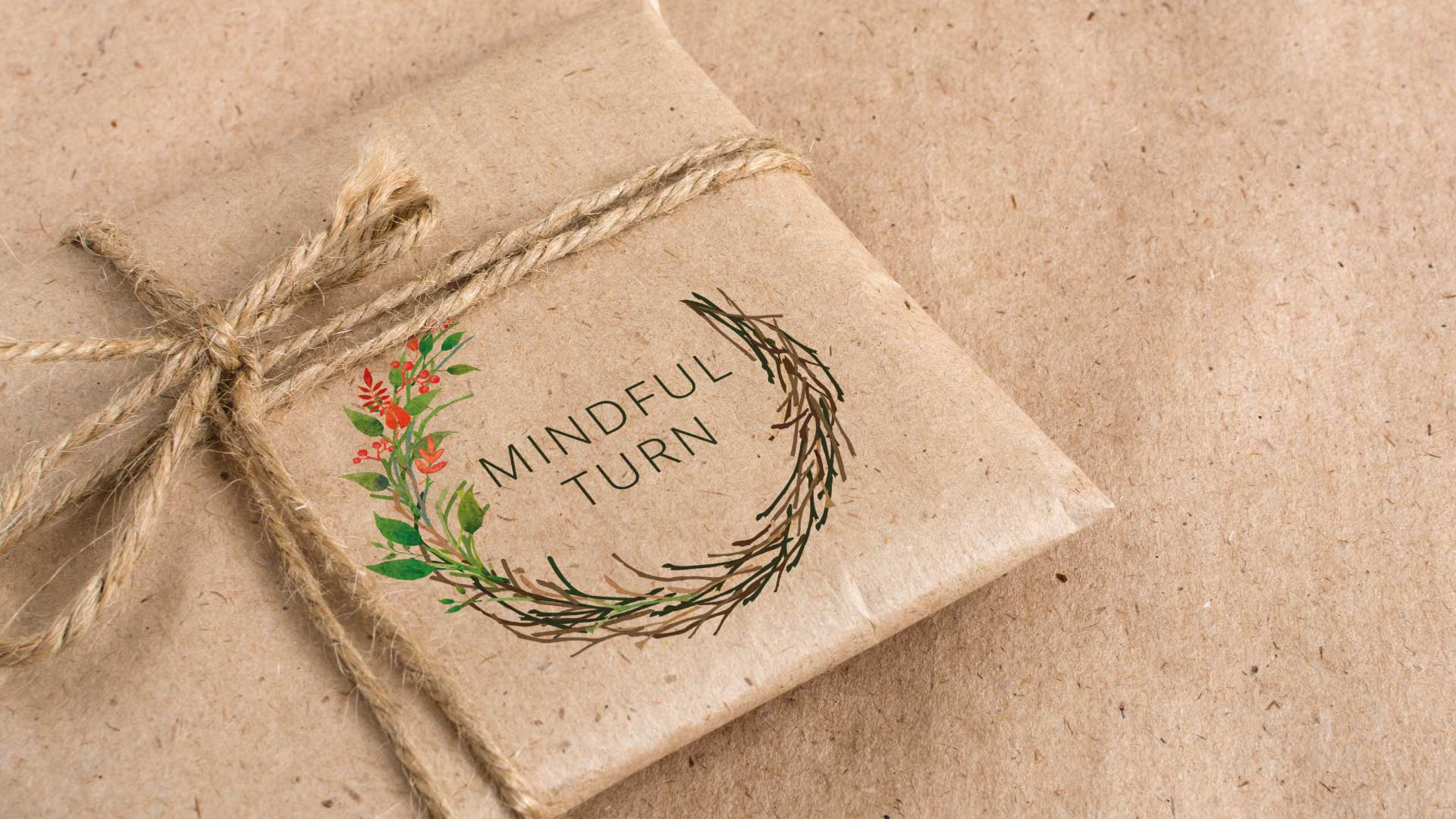 Minful Turn Wrapping Paper