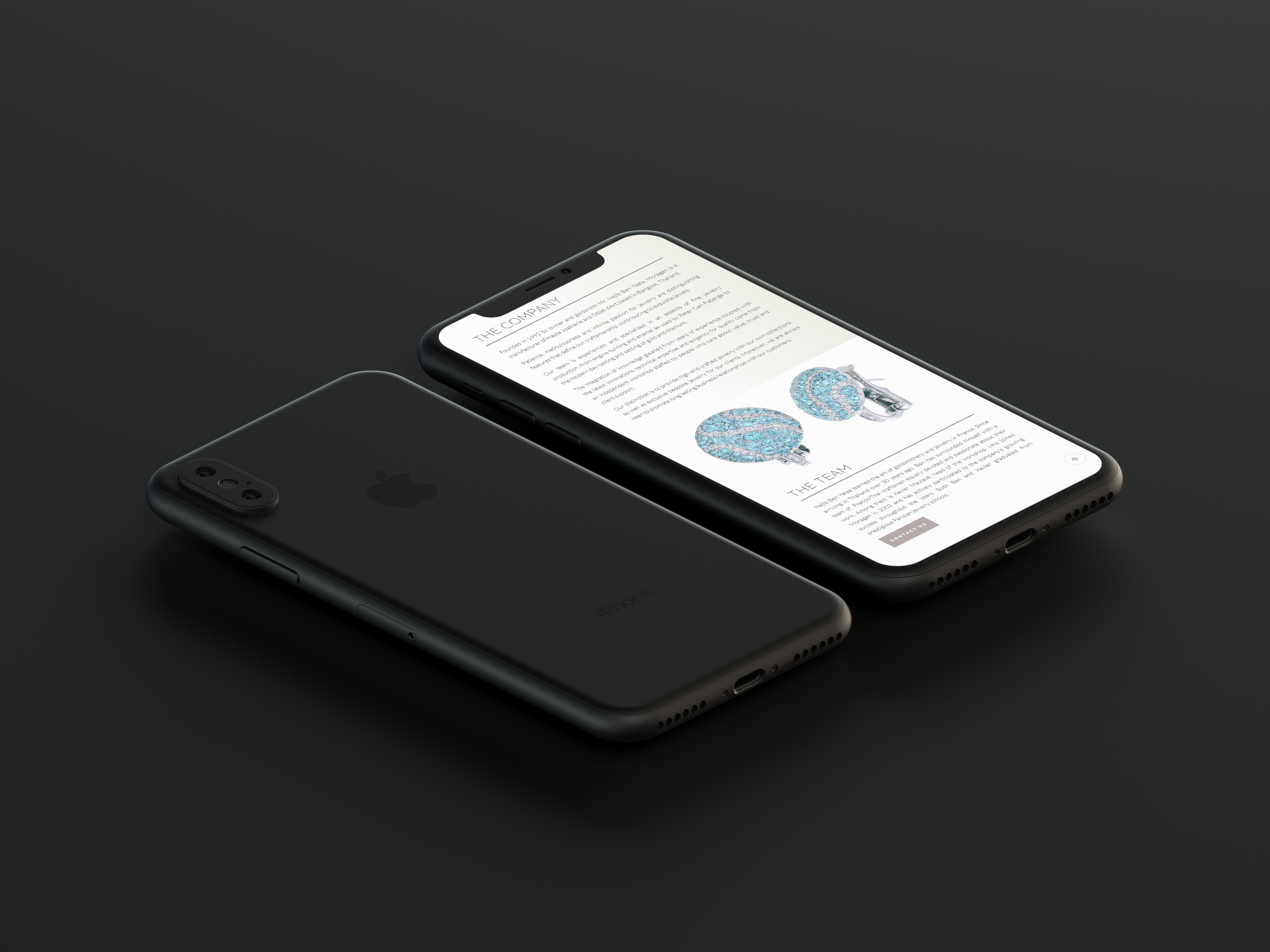 Moragen iPhone Mockup