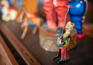 Vintage Juggling Man Toy