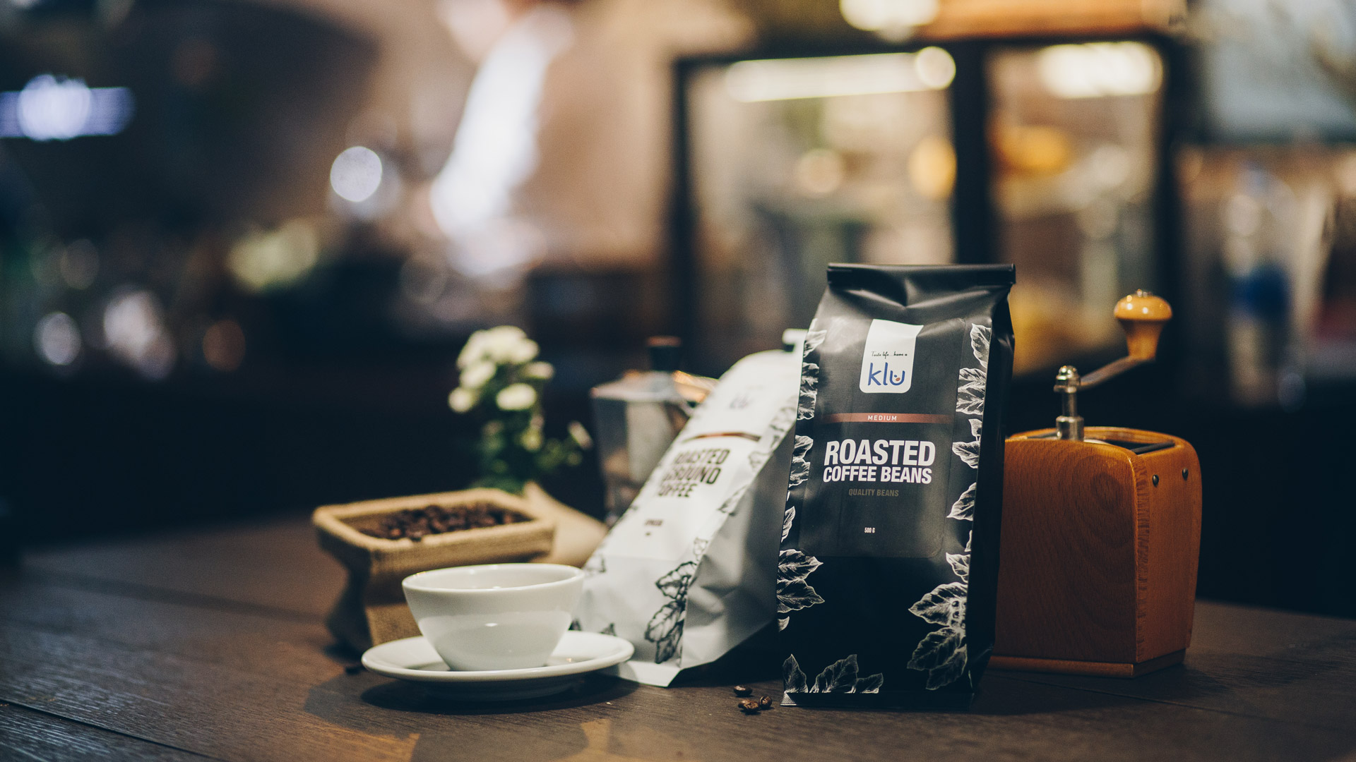Klu Coffee and Grinder