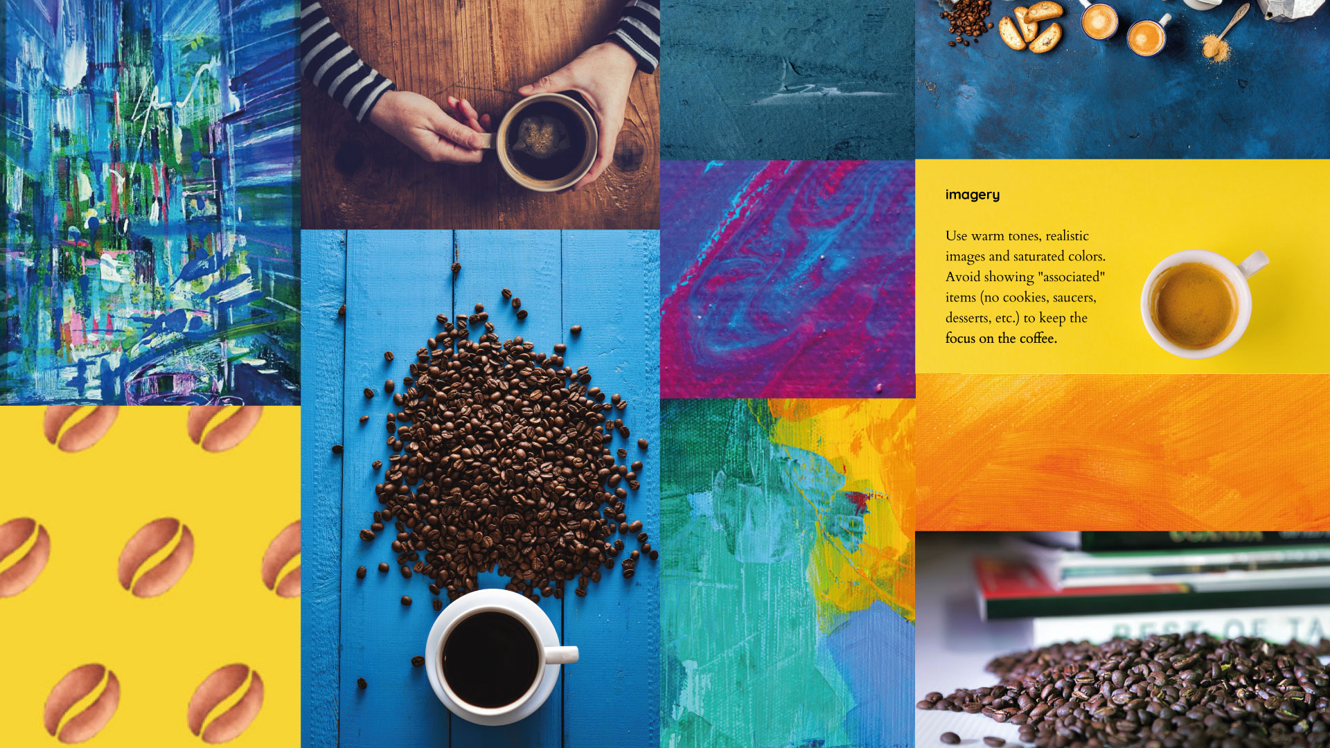 Coffee Imagery and Colours