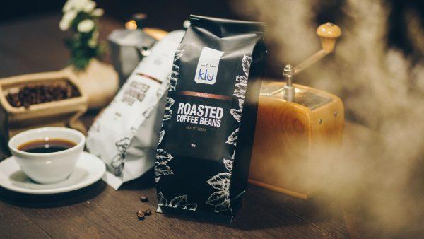 Klu Bean Packaging and Grinder