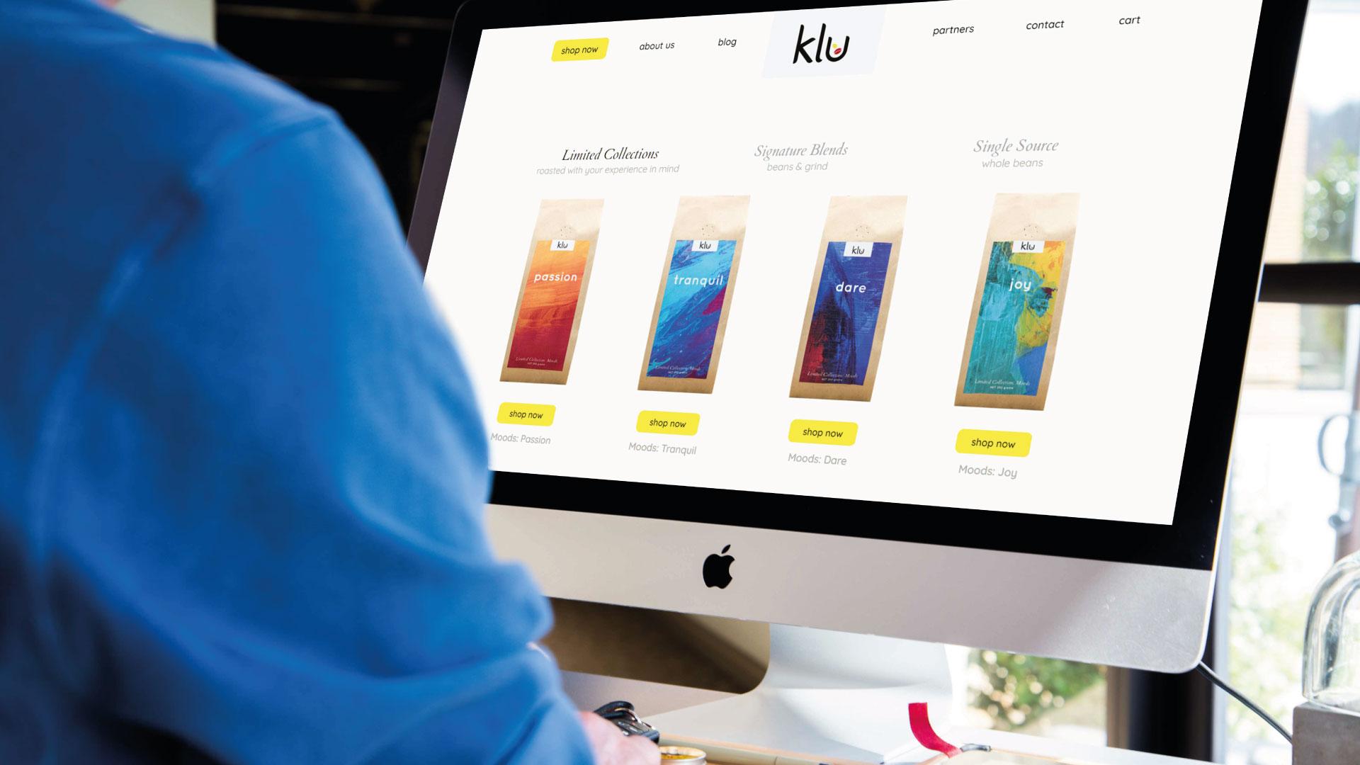 Klu Layout on iMac