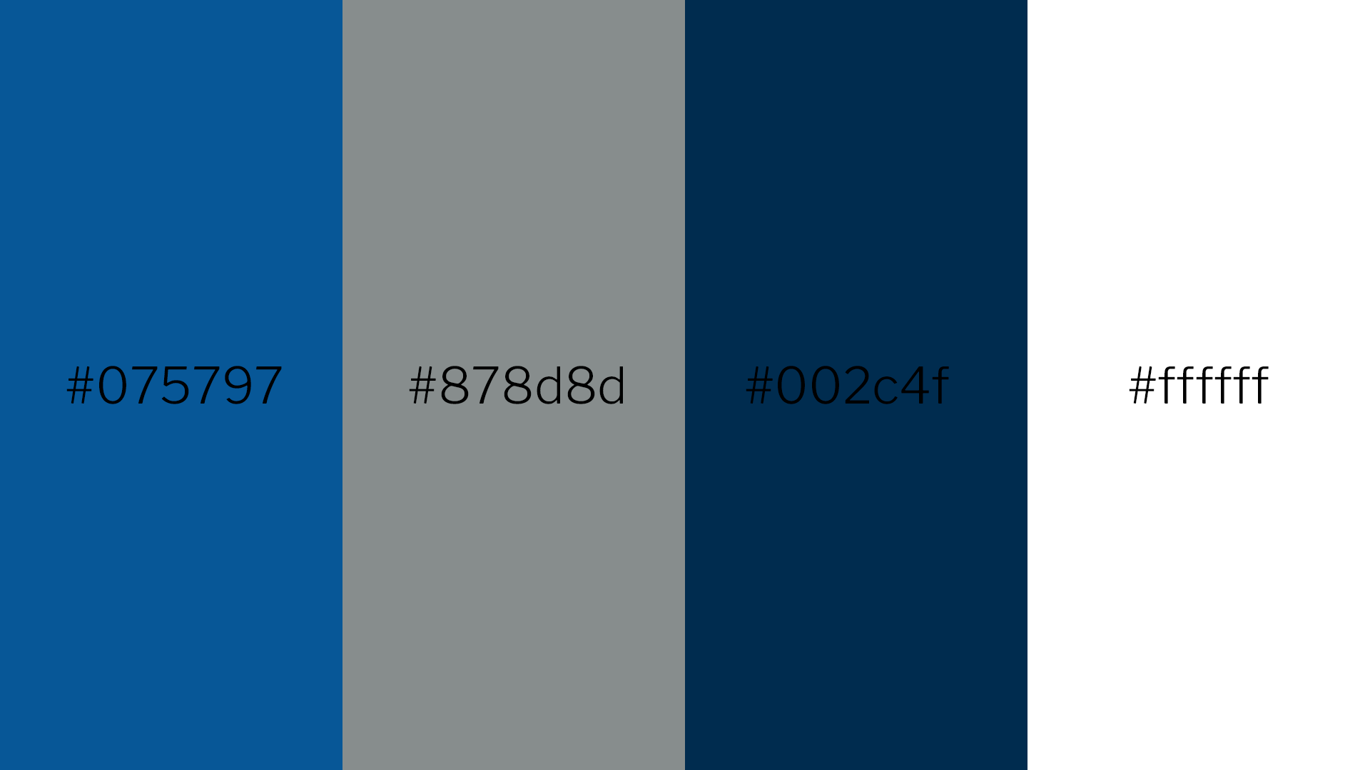 Seacats Colour Palette