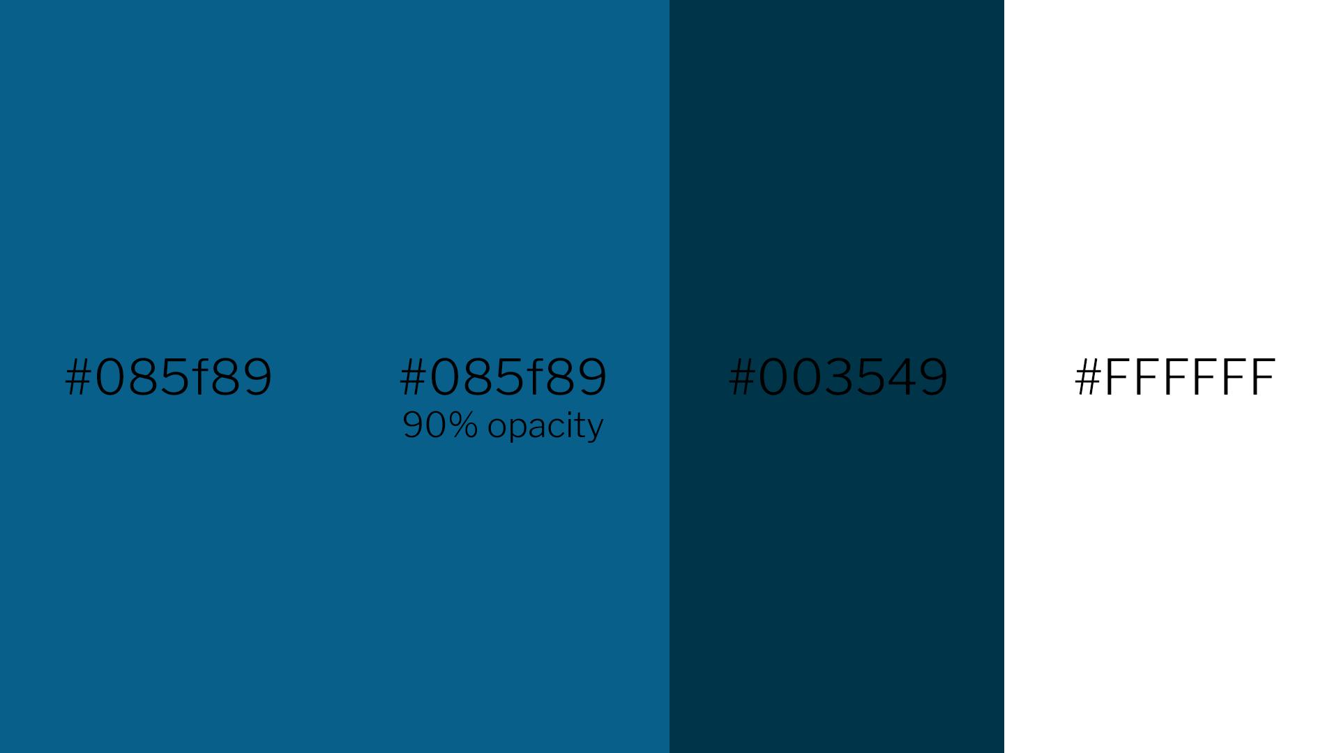 US Aid Color Palette