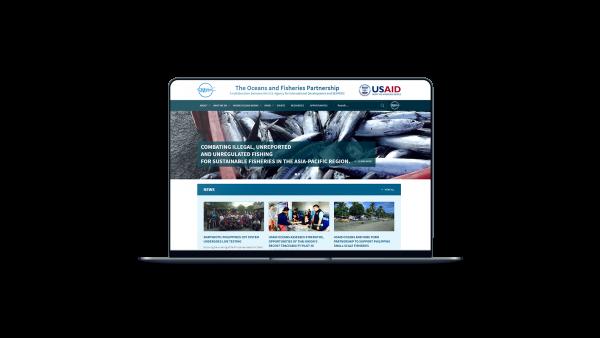 US Aid Laptop Mockup